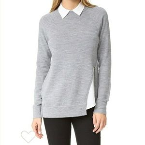 AYR the twisted seam sweater